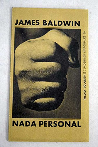 9788472230200: Nada Personal (Spanish Edition)