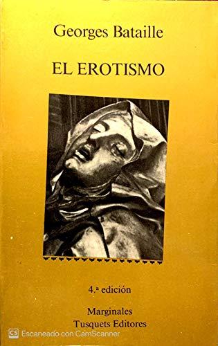 9788472230613: El erotismo (.)