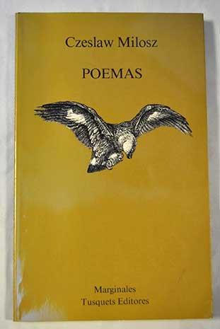 9788472230798: Poemas (Marginales)