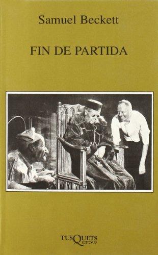 9788472230880: Fin de Partida (Marginales) (Spanish Edition)
