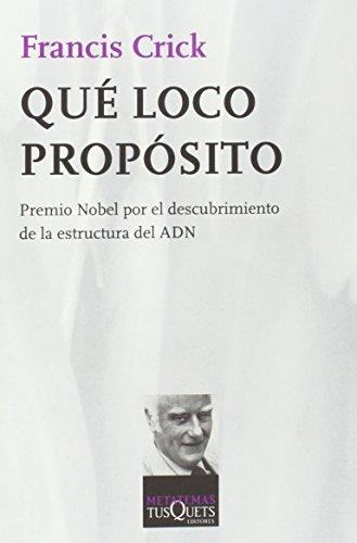 9788472231375: Qué loco propósito (Metatemas)