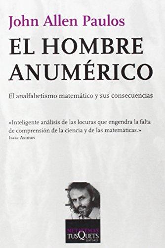 9788472231498: El Hombre Anumerico (Spanish Edition)