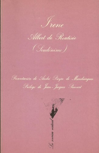 9788472233164: IRENE (COLECCION EROTICA LA SONRISA VERTICAL, 16)