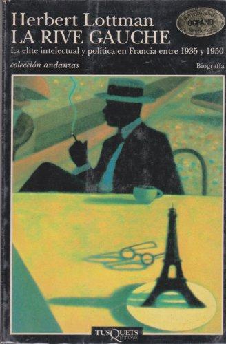 9788472234420: La Rive Gauche (Volumen independiente)