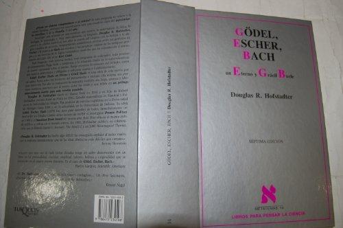 9788472234598: Gödel, Escher, Bach (Metatemas)