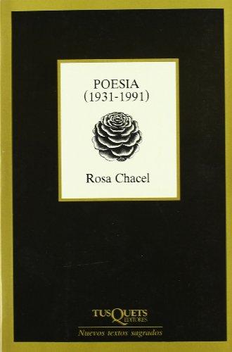 9788472234758: Poesía (1931-1991) (Nuevos Textos Sagrados)