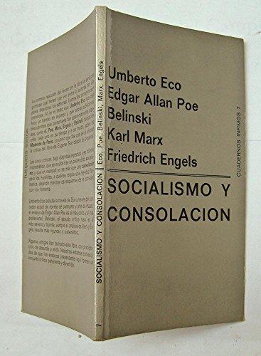 9788472235076: Socialismo y Consolacion (Cuadernos infimos) (Spanish Edition)