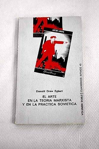 9788472235434: El Arte En La Teoria Marxista Y En La Practica Sovietica (Spanish Edition)