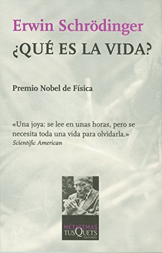 Que Es La Vida? (Spanish Edition) (8472236072) by Schrodinger, Erwin