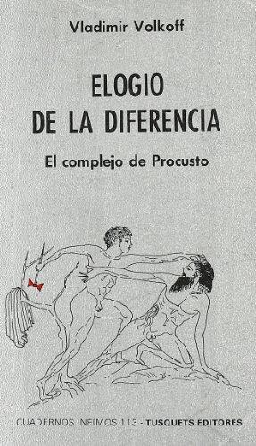 9788472236134: Elogio de La Diferencia (Spanish Edition)