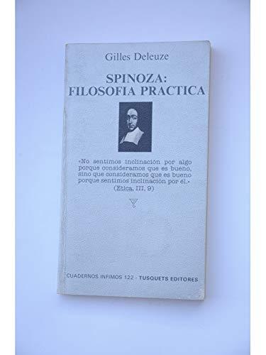 9788472236226: Spinoza: filosofía práctica (Cuadernos Infimos)