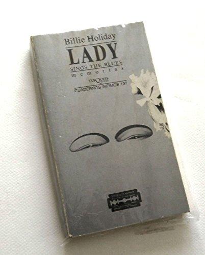 9788472236370: Lady sings the Blues (Cuadernos Infimos)