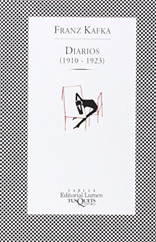 DIARIOS (1910-1923): Franz Kafka