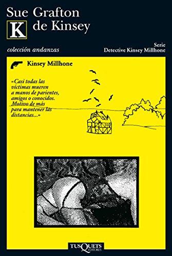 9788472238701: K de Kinsey (Andanzas)