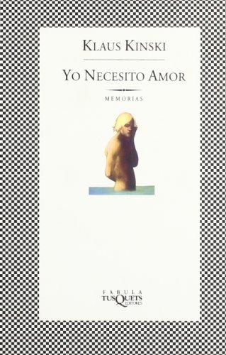 9788472239166: Yo Necesito Amor (Spanish Edition)