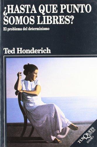 9788472239234: Hasta Que Punto Somos Libres? (Spanish Edition)