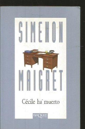9788472239593: Cecile Ha Muerto (Spanish Edition)
