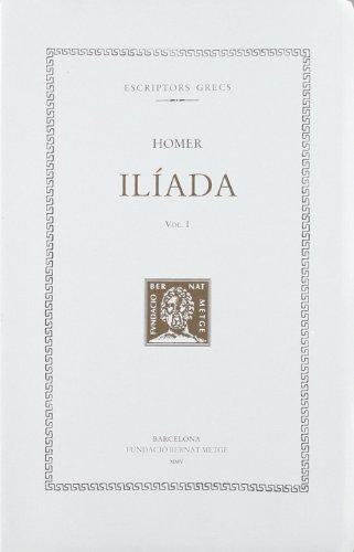 9788472258594: Iliada , vol. I (Bernat Metge)