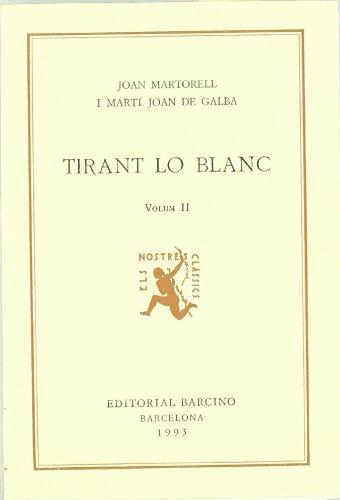 9788472262485: Tirant Lo Blanc Ii