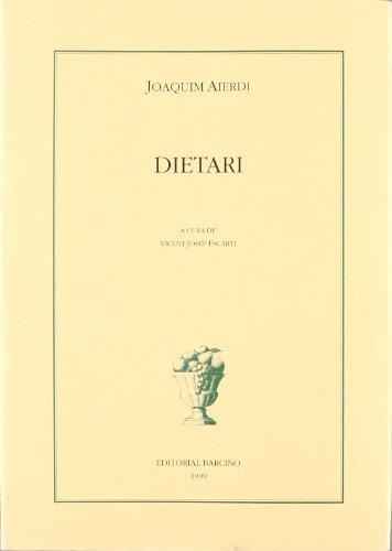 9788472266933: Dietari.Noticies De Valencia (Biblioteca Baró de Maldà : els nostres clàssics)