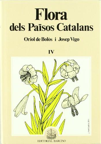 9788472266988: FLORA DELS PAISOS CATALANS 4