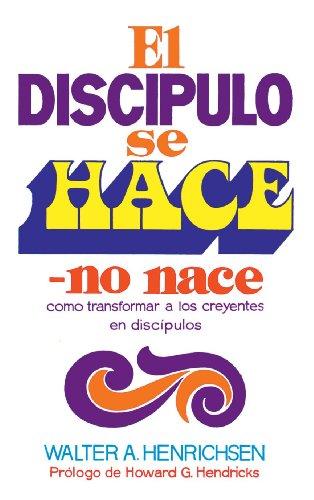 9788472280465: El Discípulo Se Hace, No Nace