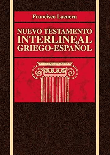 9788472288775: Nuevo Testamento interlineal griego-español (Spanish Edition)