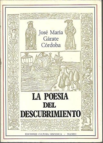 9788472321502: La poesía del descubrimiento (Colección Plural) (Spanish Edition)