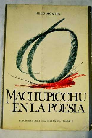 9788472322486: Machu Picchu en la poesia (Spanish Edition)