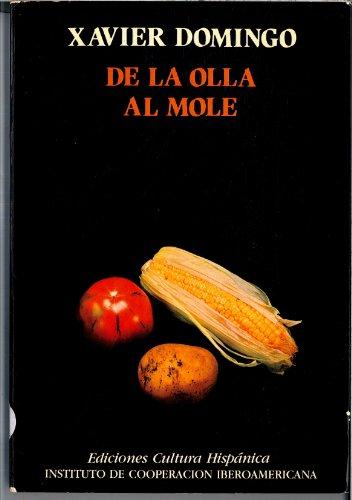 9788472323308: De la olla al mole