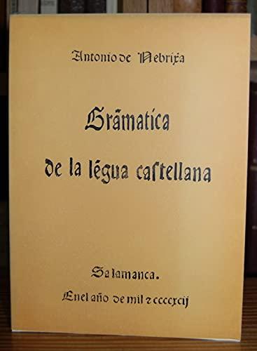 9788472326279: Gramatica de la lengua castellana.