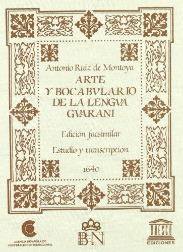 9788472327283: Arte y Bocabulario de La Lengua Guarani