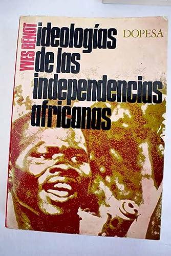9788472350649: Ideologias De Las Independencias Africanas
