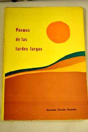 9788472390829: Poemas de las tardes largas