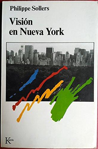 9788472451353: VISION EN NUEVA YORK (Spanish Edition)