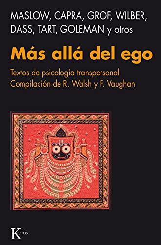 9788472451377: Más allá del ego: Textos de psicología transpersonal
