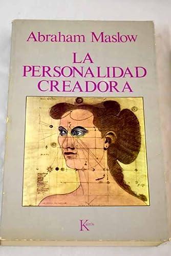 9788472451391: Personalidad creadora, la