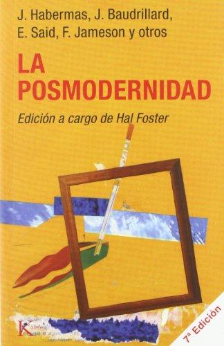 La Posmodernidad (Paperback): Jürgen Habermas