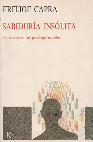 9788472452299: Sabiduria Insolita (Spanish Edition)