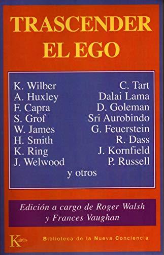 9788472452978: Trascender El Ego (Biblioteca de la Nueva Conciencia)