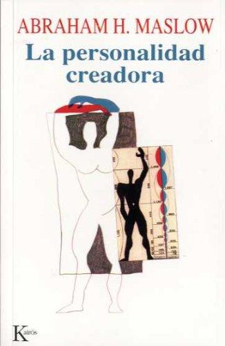 Personalidad Creadora, La (Spanish Edition): Abraham Harold Maslow