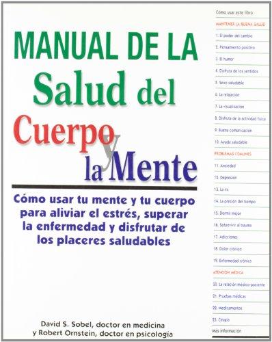 9788472454293: Manual de La Salud del Cuerpo y La Mente (Spanish Edition)
