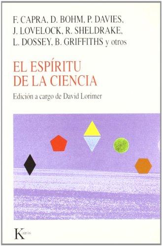 9788472454569: El Espiritu de La Ciencia (Spanish Edition)