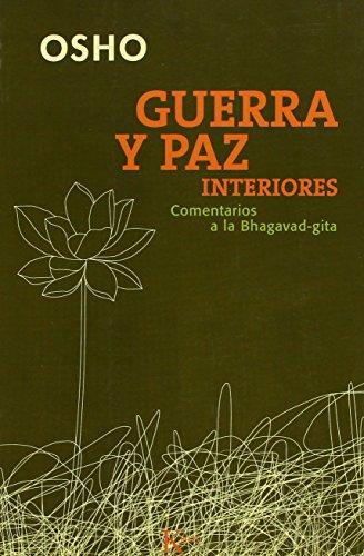 9788472455917: Guerra y paz interiores (Sabiduria Perenne)