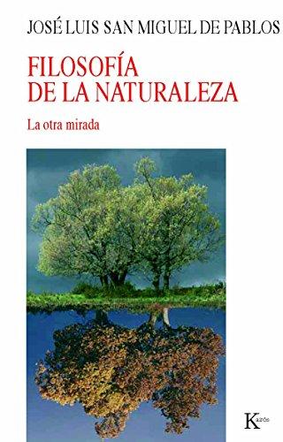 9788472457485: Filosofía de la naturaleza