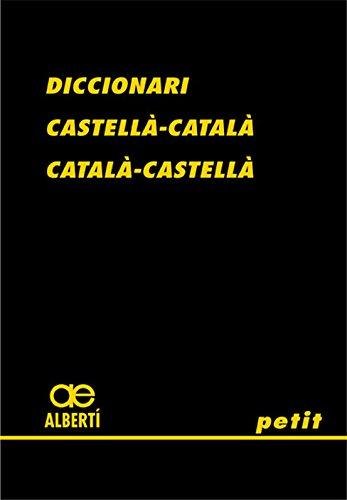 9788472460775: Diccionari castellAÂ -catalAÂ , catalAÂ -castellAÂ petit