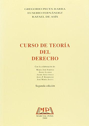 9788472487888: CURSO DE TEORIA DEL DERECHO.
