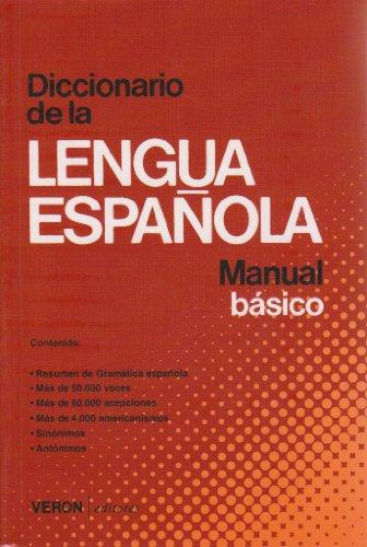 9788472551831: Diccionario de la Lengua Española (Manual básico)