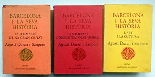 9788472560123: Barcelona I La Seva Historia
