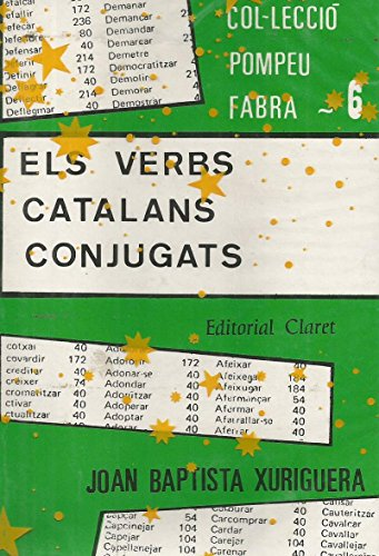 9788472632523: Els verbs catalans conjugats